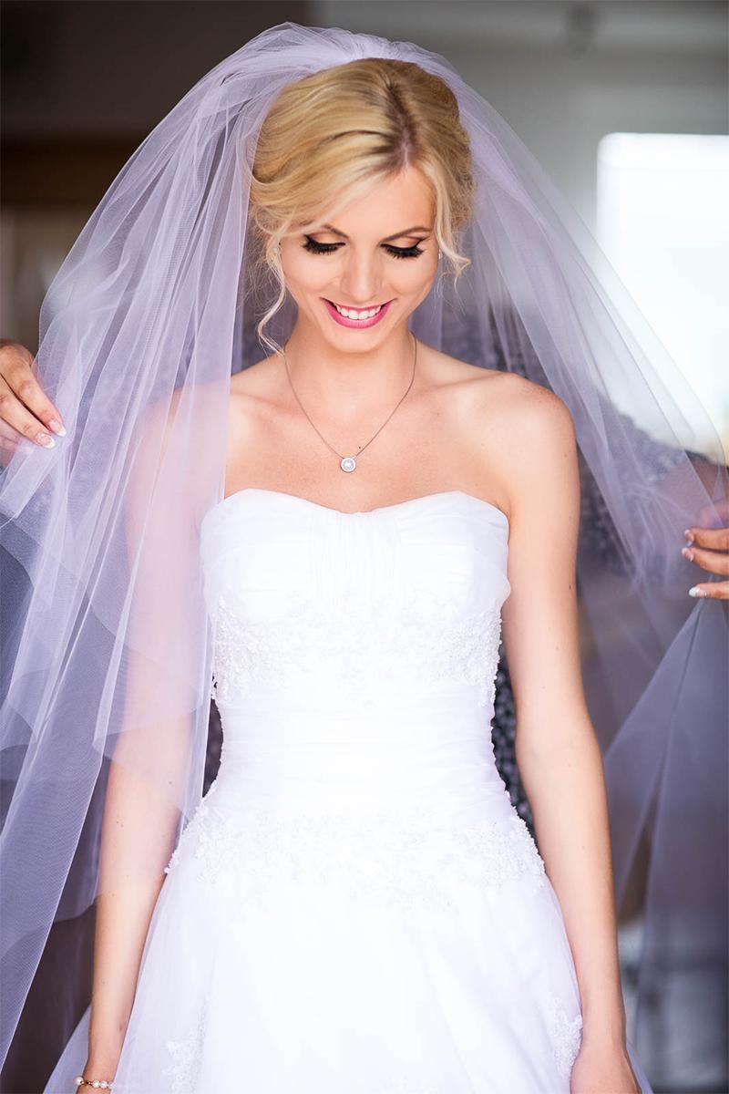 cheap bridal veil